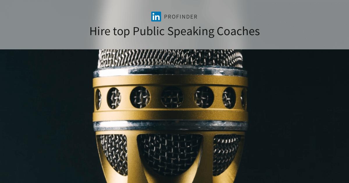The 10 Best Public Speaking Coaches Near Me - 2019